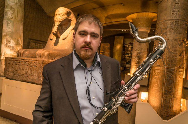 Todd Marcusmeet the bass clarinetist