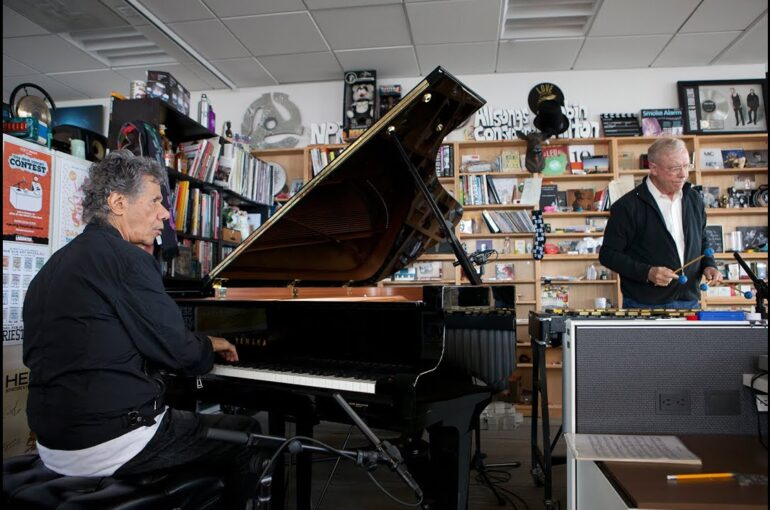 Chick Corea and Gary BurtonNPR Tiny Desk Concert