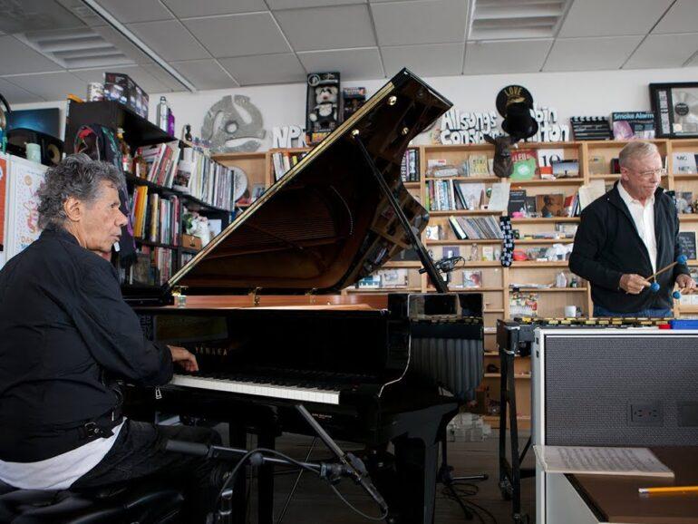 Chick Corea and Gary BurtonNPR Tiny Desk Concert