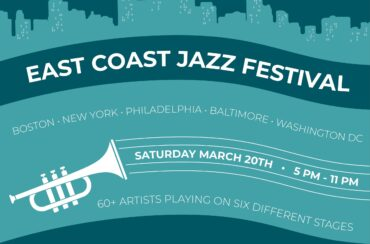 East Coast Jazz FestivalSix legendary jazz clubs host the first ever multi-city online festival