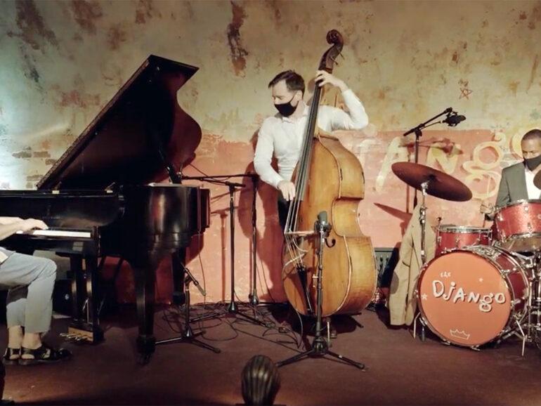 "David Kiskoski, Alex Claffy, WJ3""On Green Dolphin Street"" recorded at Django, NYC"